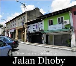 Jalan Dhoby, Johor Bahru