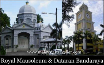 Royal Mausoleum & Dataran Bandaraya, Johor Bahru