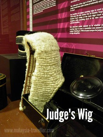 Wig worn by judges in Malaysia