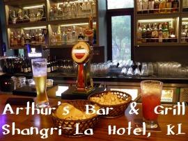 Arthur's Bar & Grill, Shangri-La Kuala Lumpur