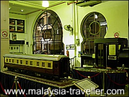KTM Mini Museum at Old KL Railway Station
