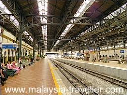 Platform at Old Kuala Lumpur Railway Station