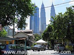 Kampung Baru is hemmed in by tall buildings