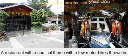 Nautical Theme to this Kampung Baru restaurant
