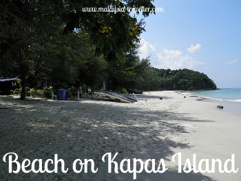 Beach at Kapas Island