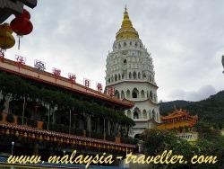 View of Kek Lok Si Temple and Pagoda, Penang