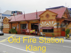 Victorian Fire Station , Klang built in 1890s.