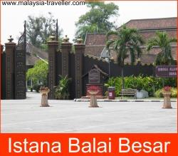 Istana Balai Besar (Grand Palace), Kota Bharu