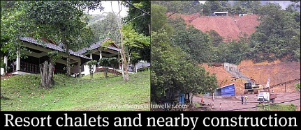 Chalets at the Kota Tinggi Waterfall Resort