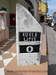 Kuala Lipis Walking Tour Milestone