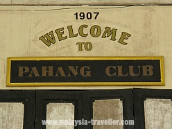 Pahang Club, Kuala Lipis