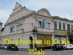 Colourful Shophouses, Kuala Pilah