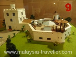 Model of Fort Margherita, Kuching