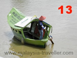 Tambang, ferry boat, Kuching