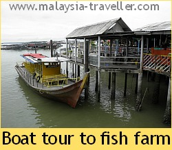 Boat Tour to Fish Farm