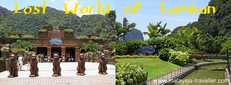 Entrance to Lost World of Tambun, Ipoh