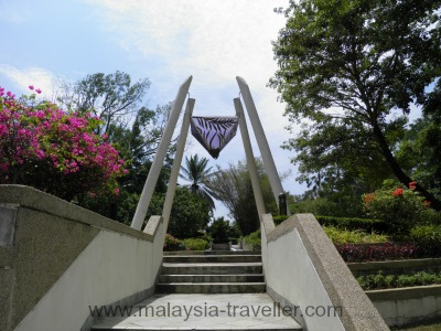 Artwork at Labuan Botanical Garden