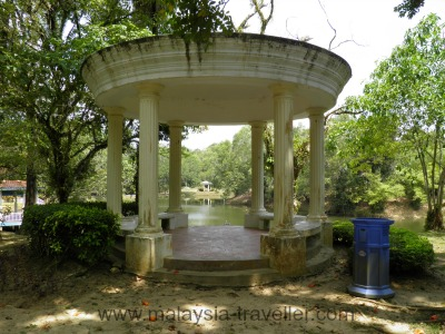 Gazebo Overlooking the Boating Lake