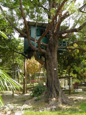 Treehouse at Labuan Botanical Garden
