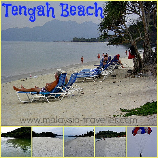 Langkawi Beaches - Tengah Beach