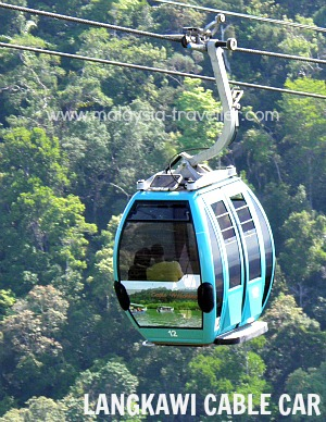 Langkawi Cable Car gondola