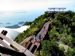 Langkawi Cable Car Viewing Platforms