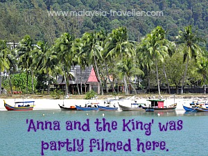 Pantai Kok where Anna and the King was filmed