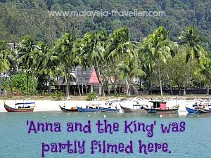 Pantai Kok where Anna and the King was filmed