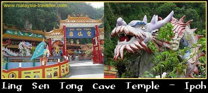 Ling Sen Tong Cave Temple, Ipoh, Perak, Malaysia