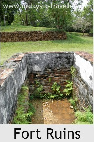 Ruined Foundations at Fort Lukut