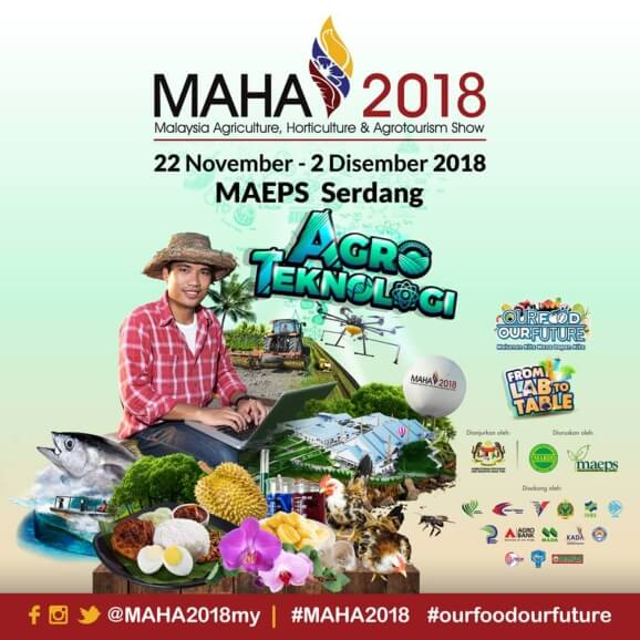 MAHA 2020 - Malaysia's Leading Agricultural Show