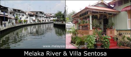 Melaka River & Villa Sentosa