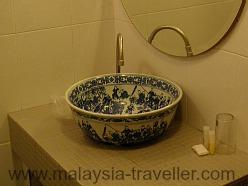 Bathroom at NAK Hotel Sandakan