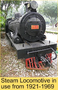 Steam Locomotive at National Museum