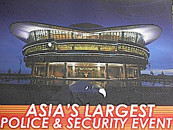 Poster for a Police & Security Event