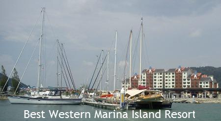 Best Western Marina Island Resort