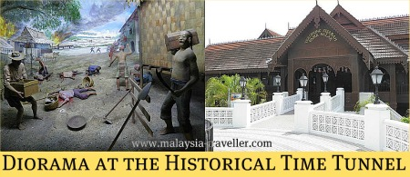 The Time Tunnel at Pasir Salak Historical Complex