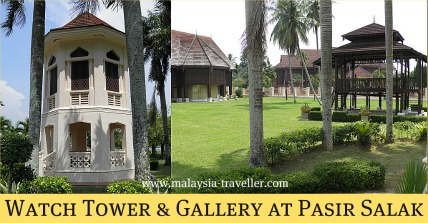 Watch Tower at Pasir Salak Historical Complex