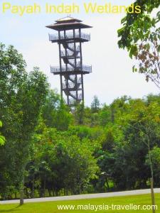 Lookout Tower, Paya Indah Wetlands