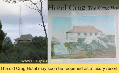 The former (and future?) Crag Hotel at Penang Hill