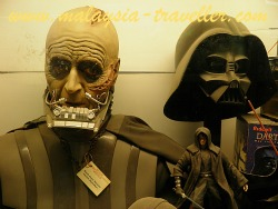 Darth Vader at the Penang Toy Museum