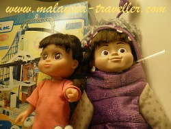 Monsters Inc. Characters at Penang Toy Museum