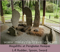 Megaliths at Pengkalan Kempas
