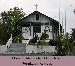 Chinese Methodist Church at Pengkalan Kempas