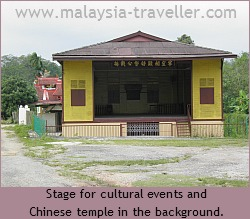 Chinese Opera Stage at Pengkalan Kempas