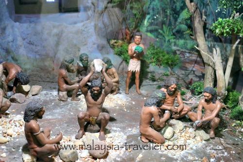 Diorama of Perak Man