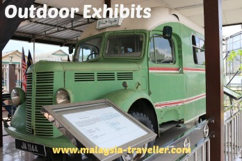 Perak Museum Bedford Lorry