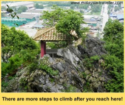 One of the pavilions on the path to the summit, Perak Tong