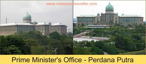 Perdana Putra (Prime Minister's Office) Putrajaya