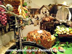 Display of market at Petaling Jaya